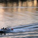 speedboat, Sacramento River, CA  by Lenny La Rue, IPA