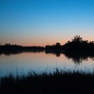 Dusk On The Mighty Murray River - South Australia by Dwayne Madden