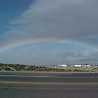 Rainbow in Victorville by Photos55