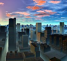 """CITY OF DREAMS"" by GUADALUPE  DIVINA"