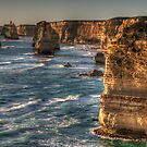 Weathered In Time - The Twelve Apostles - Great Ocean Road Victoria - The HDR Experience by Philip Johnson