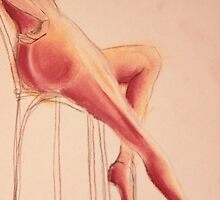 Sitting on Chair by Nadja  Farghaly
