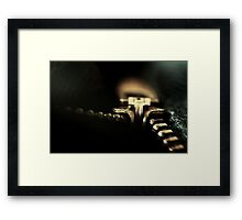 You decide... Up or Down? Framed Print