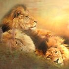 Serengeti Sons by Trudi&#x27;s Images