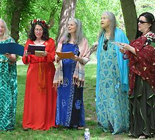 Beltane Choir by Hank Eder