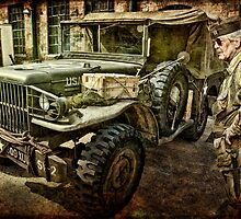 Old American Jeep by Tarrby
