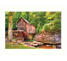 Glade Creek Mill  Art Print