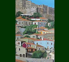 Molyvos Two Of Three by Eric Kempson