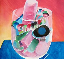 Negative of Sweets in a Glass by Holly Daniels