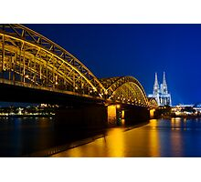 Cologne Cathedral on the Rhine - Germany Photographic Print