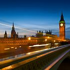 Big Ben and the Westminster Bridge - London, England by Yen Baet