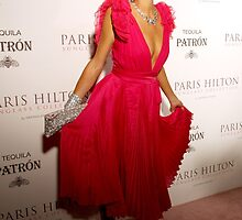 Paris Hilton by Justin Bellflower