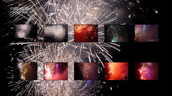 Amazing London - FIREWORKS 1st January 2011 - (UK) by Daniela Cifarelli