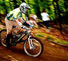 Downhill Racing at Sunday River by A. Kakuk