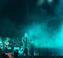 U2 in Melbourne by Ron Hannah