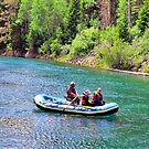 Rafting at Glacier by Susan Russell