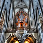 Pipe Organ - St. James Cathedral, Rothenburg ob der Tauber. by Luke Griffin