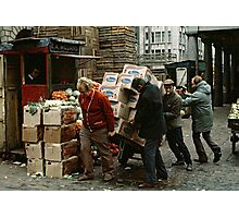 """""""A Helping Hand"""", Covent Garden Market, London, 1973. Photographic Print"""