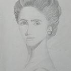 Volto di donna by Margherita Bientinesi