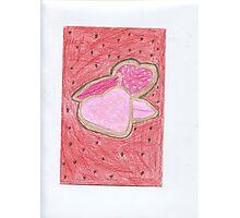 Valentine Cookies Photographic Print
