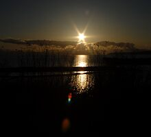 Sunstar over the water by DocGawnz