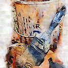 Dry Brushes and Rusty Paint by suzannem73