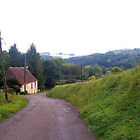 Solitary cottage in rural France by magicaltrails