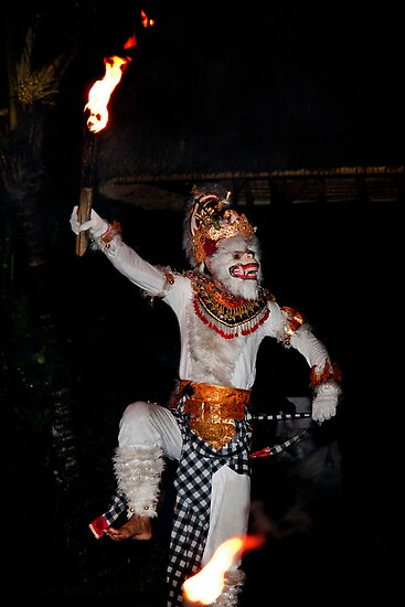 Vanara, Balinese Kecak by Chris Westinghouse