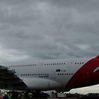 First QANTAS A-380 by Bairdzpics