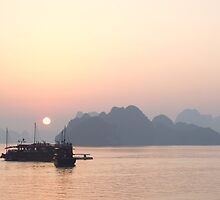 Dusk - Halong Bay, Vietnam by BreeDanielle
