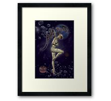 Robotic Angel Framed Print