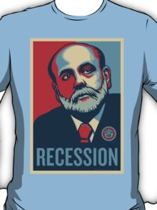 Federal Reserve Chair Ben Bernanke T-Shirt