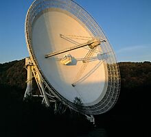 Radio Telescope, Effelsberg, Germany. by David A. L. Davies