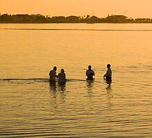 Baptism, Nassau, Bahamas by Shane Pinder