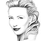 Cate Blanchett Portrait no.2 by wu-wei