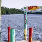 Bert's Bar Matlacha, FL by Christine Sullivan