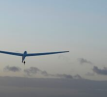 Glider launch at sunset. by sandyprints