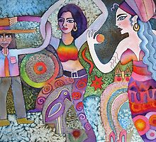 Bollywood  by Karin Zeller