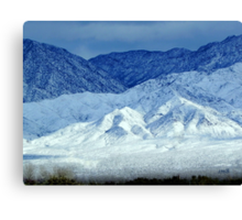 Colors Of Cold Canvas Print