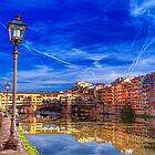 The arno river florence by clint hudson