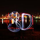 San Diego Light Painting by MSPhoto