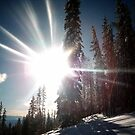 At the top -Kimberley ski resort by NatalieCallwood