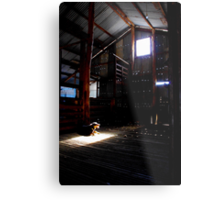 The Poolamacca Shed Metal Print