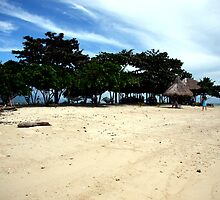 White Sand Island (Isla Puting Buhangin), Population = 1  by moonlover