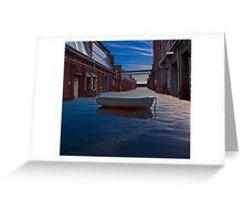 Urban seascape Greeting Card
