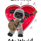 Ewe Rock My World - Sheep Series Romance Cards by Moonlake