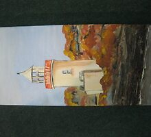 The lighthouse, Scattery Island, Kilrush by PAULINE2668