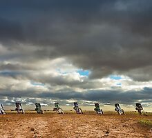 Cadillac Ranch Horizon by Doug Graybeal