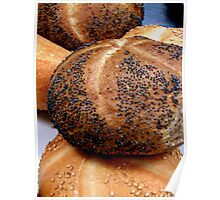 On top Poppy seed Poster