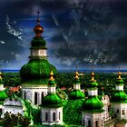 Domes of Trinity Cathedral by LudaNayvelt